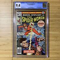 Marvel Spotlight 32 CGC 9.4 1st Appearance Spider-Woman Jessica Drew Near Mint