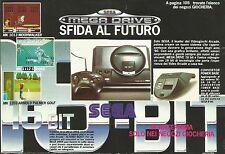 X7050 Sega Mega Drive - Sfida al futuro - Pubblicità 1990 - Advertising