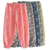 4 Styles Hot Kids Girl Baby Leggings Flower Floral Printed Pants Summer Trousers