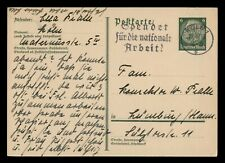 DR WHO 1933 GERMANY COLOGNE POSTAL CARD STATIONERY C186704