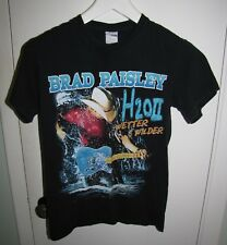 Brad Paisley H2O Wetter and Wilder Tour Concert T-Shirt Size Adult Small