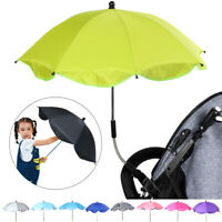 Baby Sun Umbrella Parasol Buggy Pushchair Pram Stroller Shade Canopy Rain Brolly
