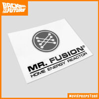 Zurück in die Zukunft / Back to the Future Prop - Mr. Fusion Aufkleber Sticker