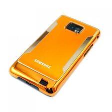 Hardcase Schutzhülle Cover Samsung i9100 Galaxy S2 S II Alucase Case Schale Gold