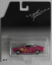 Johnny Lightning – VW Karmann Ghia pink mit Flammen Neu/OVP