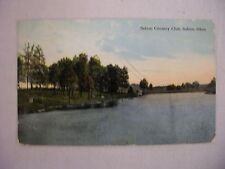 VINTAGE POSTCARD OF SALEM COUNTRY CLUB IN SALEM, OHIO 1914