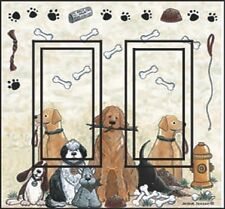Ideastix/SwitchStix Switchplate Cover DR Dogs