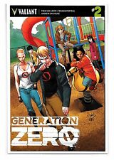 GENERATION ZERO #2 - Cover D - Clayton Henry Variant Cover - Valiant Comics!
