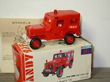 Mitsubishi Jeep J3R Fire Chief Car - Tomica Dandy 042 Japan 1:42 in Box *30423