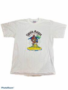 Captain Morgan Original Spiced Rum Pirate Alcohol Vintage T shirt Men's Size XL
