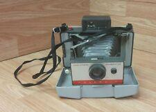 Vintage Polaroid Automatic 104 Land Camera in Case With Neck Strap