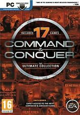COMMAND and CONQUER ULTIMATE COLLECTION PC ORIGIN DIGITAL DOWNLOAD CODE