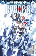 Cyborg #11 Carlos D'Anda Variant Cover DC Comics 2017 DCU Rebirth