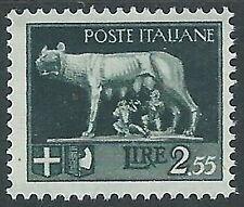 1929-42 REGNO LUPA 2,55 LIRE MH * - CZ36