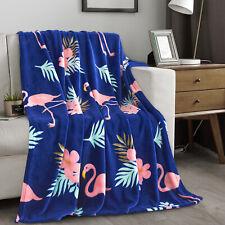 "Super Soft Plush Flannel Fleece Throw Blanket Light Weight 50"" x 60"""