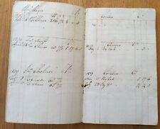 1808-09.  Cheesemonger's Account Book?