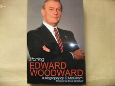 STARRING EDWARD WOODWARD BIOGRAPHY BOOK CALLAN THE EQUALIZER NEW PROFESSIONALS