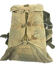 Vintage EFA Military Pilots Packed Parachute & Harness