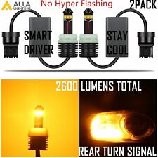 Alla Lighting LED 7440NA Turn Signal Light Bulb Yellow Blinker No Hyper Flashing