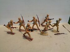 Authenticast Eire SAE HE Desert Infantry 8th Army ww2 54mm lead British soldiers