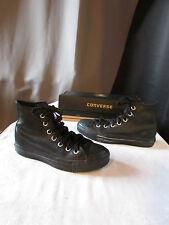 chaussures converse cuir noir pointure 36
