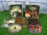 2 x PLAYSTATION 3 GAMES 'FALLOUT 3 + FALLOUT NEW VEGAS' **WITH MANUALS **PS3
