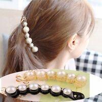 Jewelry Headwear Crystal Hairpin Hair Accessories Banana Clips Womens Hairpins