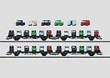 MÄRKLIN 45099 Autotransportwagen-Set der DB beladen #NEU in OVP#