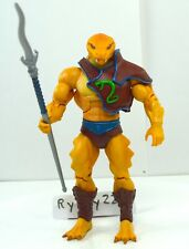 MOTUC, Snake Men figure, Masters of the Universe Classics, guard, weapons, parts
