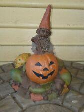 Vintage Tom Clark Gnome Hal Jack-O-Lantern Halloween 1984