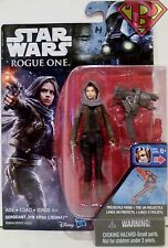 """SERGEANT JYN ERSO (JEDHA) Star Wars Rogue One Movie 3 3/4"""" Action Figure 2016"""
