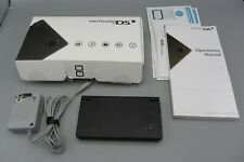 Nintendo DSi Game System w/ Charger Box & Manuals / Black - Good Working