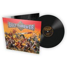Bolt Thrower 'Warmaster' FDR Black Vinyl - NEW full dynamic range war master