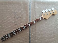 Maple 20 Fret  Bass Neck For Electric Bass Guitar Parts Replacment and tuners
