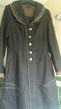 Joe Browns long charcoal women's wool coat, Size 10