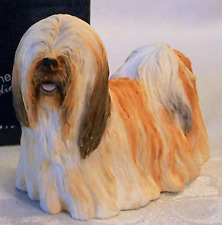 New Border Fine Arts Lhasa Apso Puppy Dog Figurine Standing Mib Ol Store Stock