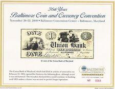 1994 Collectorama Souvenir Card Columbus Sighting Land  L5 October