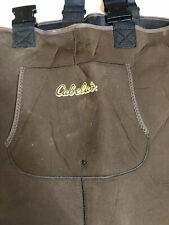 Cabelas Neoprene Chest Stocking Foot Fishing Waders Medium Pre-owned