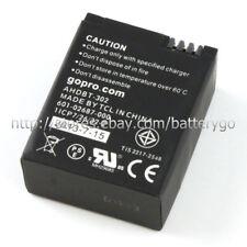 Genuine 1180mAh 4.37Wh 3.7V Battery AHDBT-302 For GoPro Hero3 Hero 3 Hero3+