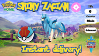 ✨SHINY✨ ZACIAN 6IV pokemon sword and shield home legendary FAST DELIVERY
