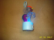 Tech4Kids My Little Pony Charm Lite RAINBOW DASH PUSH BUTTON Toy backpack ring