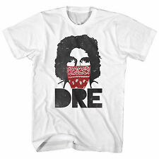 Andre the Giant Bandana DRE Mens White T-shirt