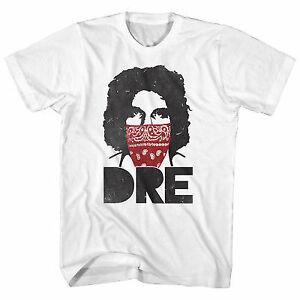 Andre the Giant Bandana DRE Mens White T-shirt