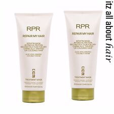 RPR Repair My Hair Keratin Treatment Mask Duo 2 x 200ml
