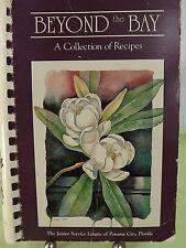 Vintage Recipe Spiral Cookbook Beyond The Bay Junior Service League Panama City