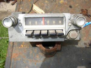 1965 ford mustang radio
