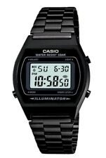 Casio Vintage Watch * B640WB-1A Digital Black Steel Ivanandsophia COD PayPal