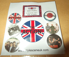 Mod: The Action mod band 25mm Button Badge Set