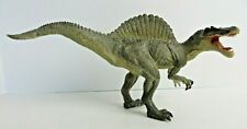 "Papo Dinosaur Action Figure Spinosaurus Standing Moving Jaw 2007 12"" Long #0694"