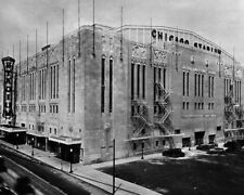 CHICAGO STADIUM 8X10 PHOTO ORIGINAL 6 NHL HOCKEY ARENA PICTURE BLACKHAWKS
